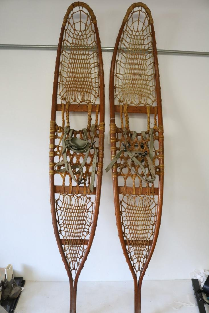 C.A. Lund Antique Snow Shoes