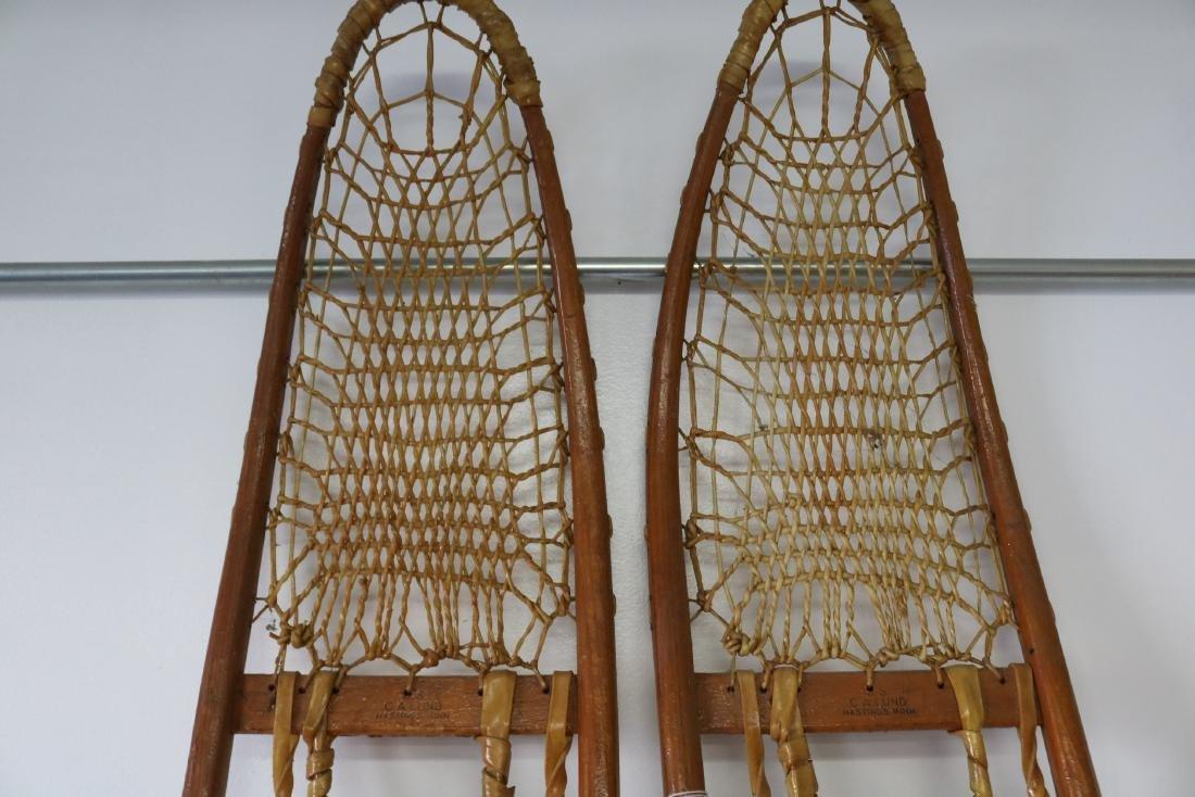 C.A. Lund Antique Snow Shoes - 2