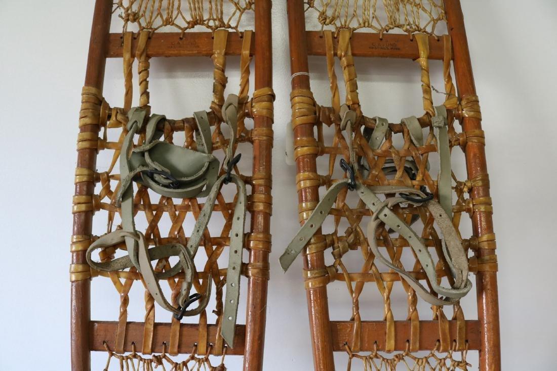 C.A. Lund Antique Snow Shoes - 3