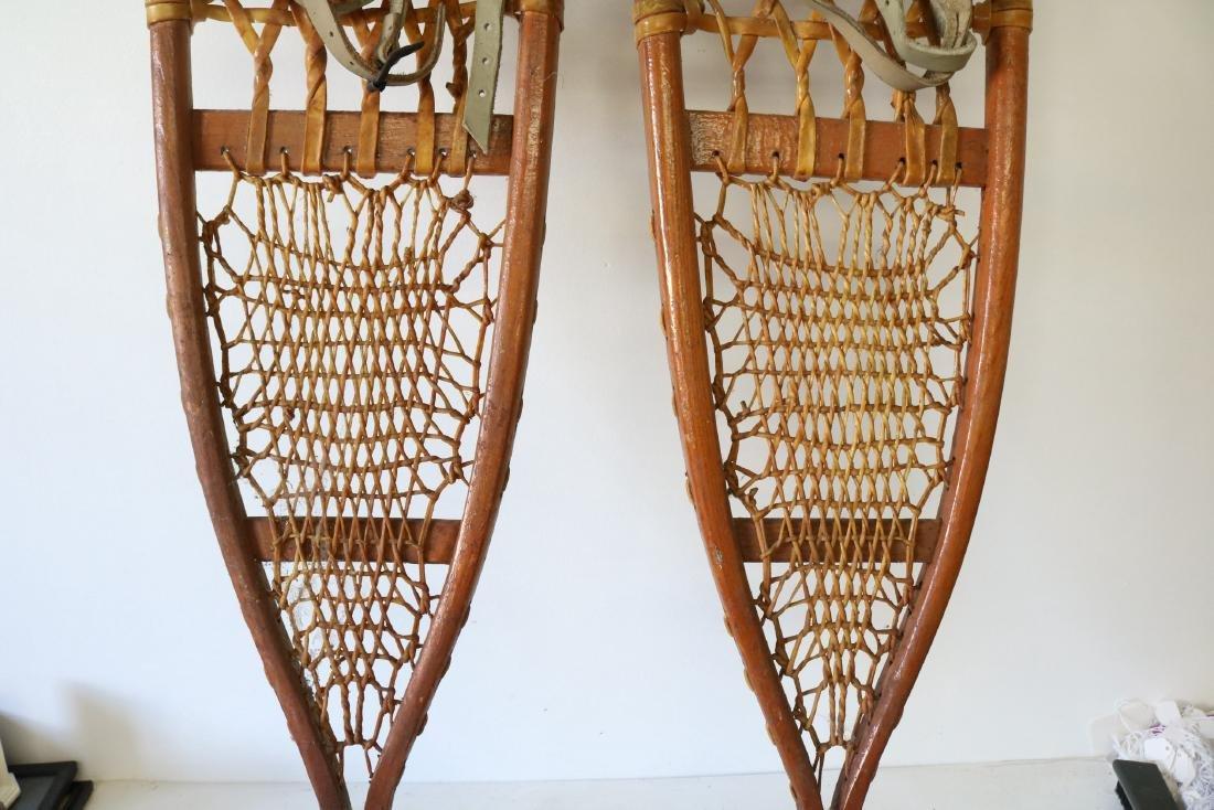 C.A. Lund Antique Snow Shoes - 4
