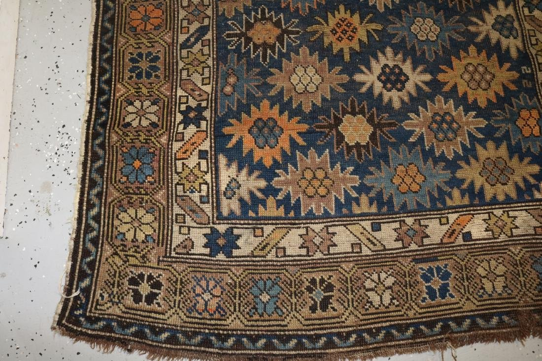 Antique Persian Carpet, 46 x 65 - 3