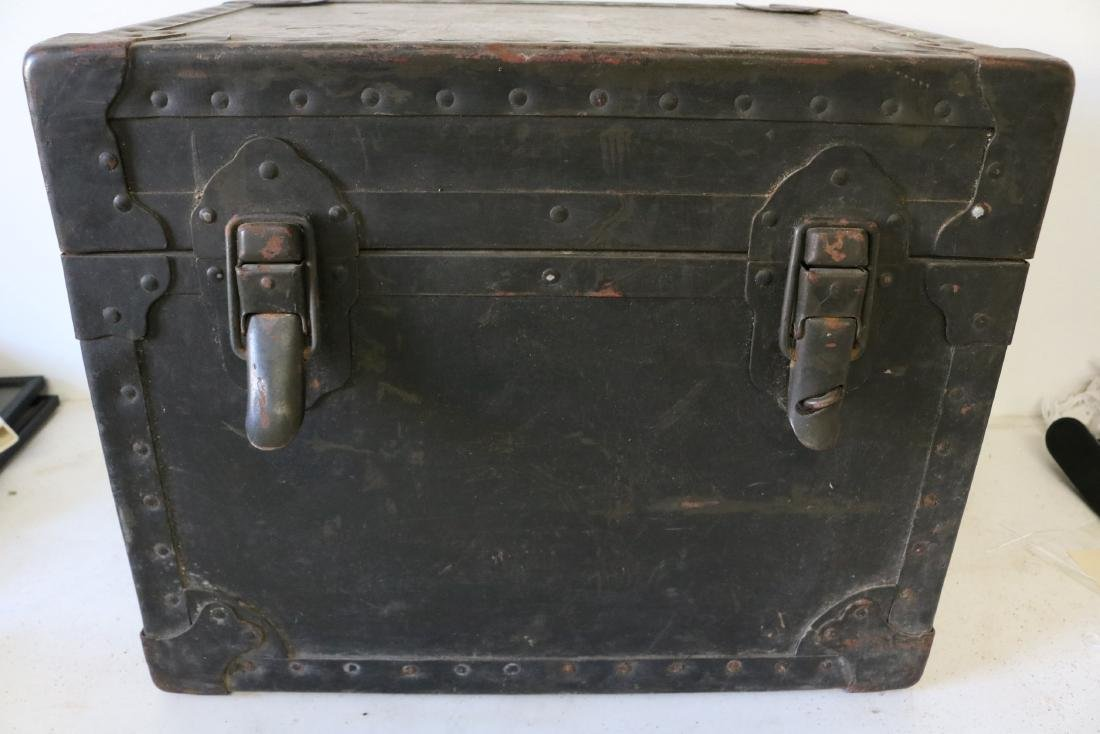 Antique Military Mess Trunk