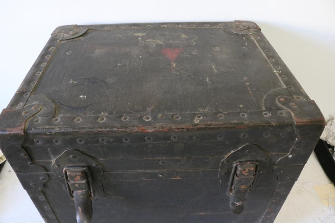 Antique Military Mess Trunk - 2