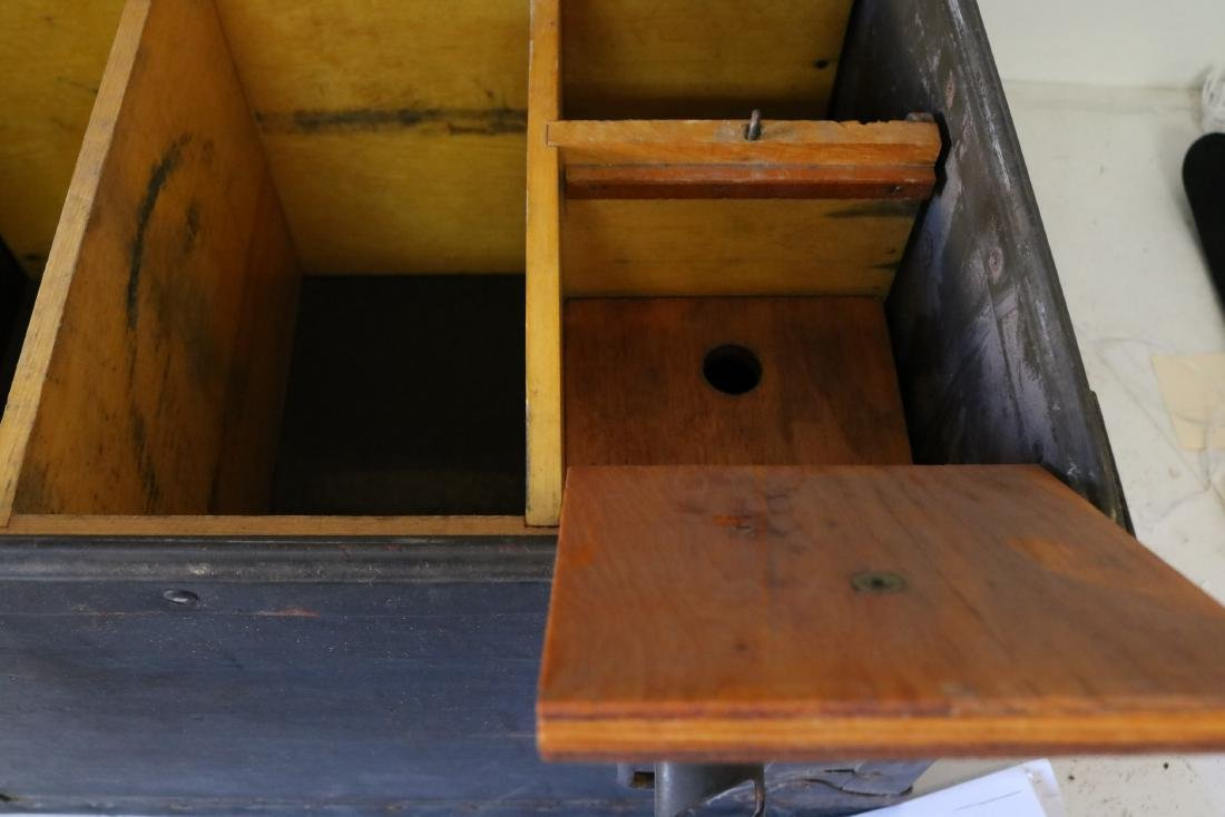 Antique Military Mess Trunk - 6