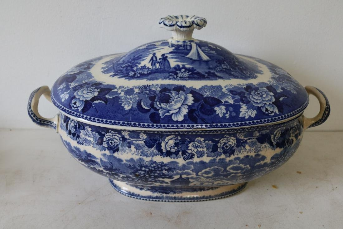Wedgewood Landscape pattern Soup Tureen with Cover
