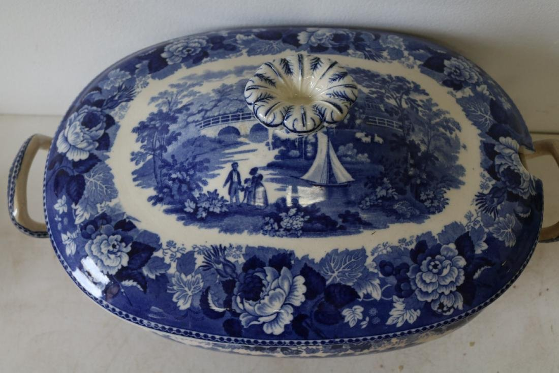 Wedgewood Landscape pattern Soup Tureen with Cover - 2