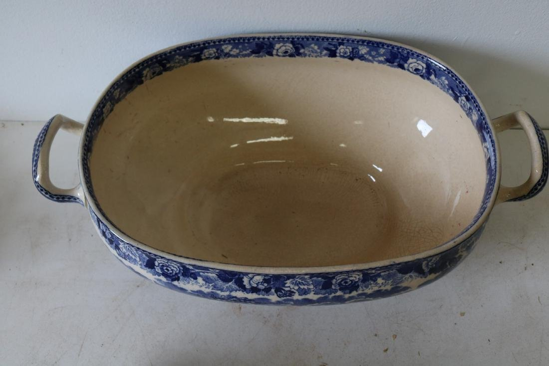 Wedgewood Landscape pattern Soup Tureen with Cover - 3