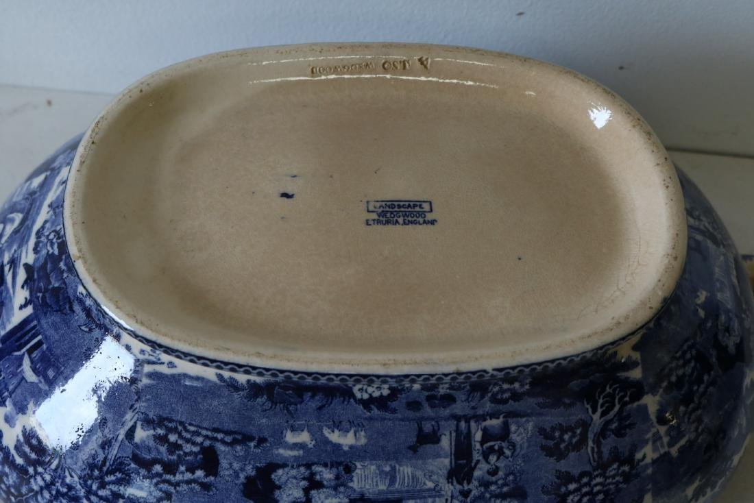Wedgewood Landscape pattern Soup Tureen with Cover - 6