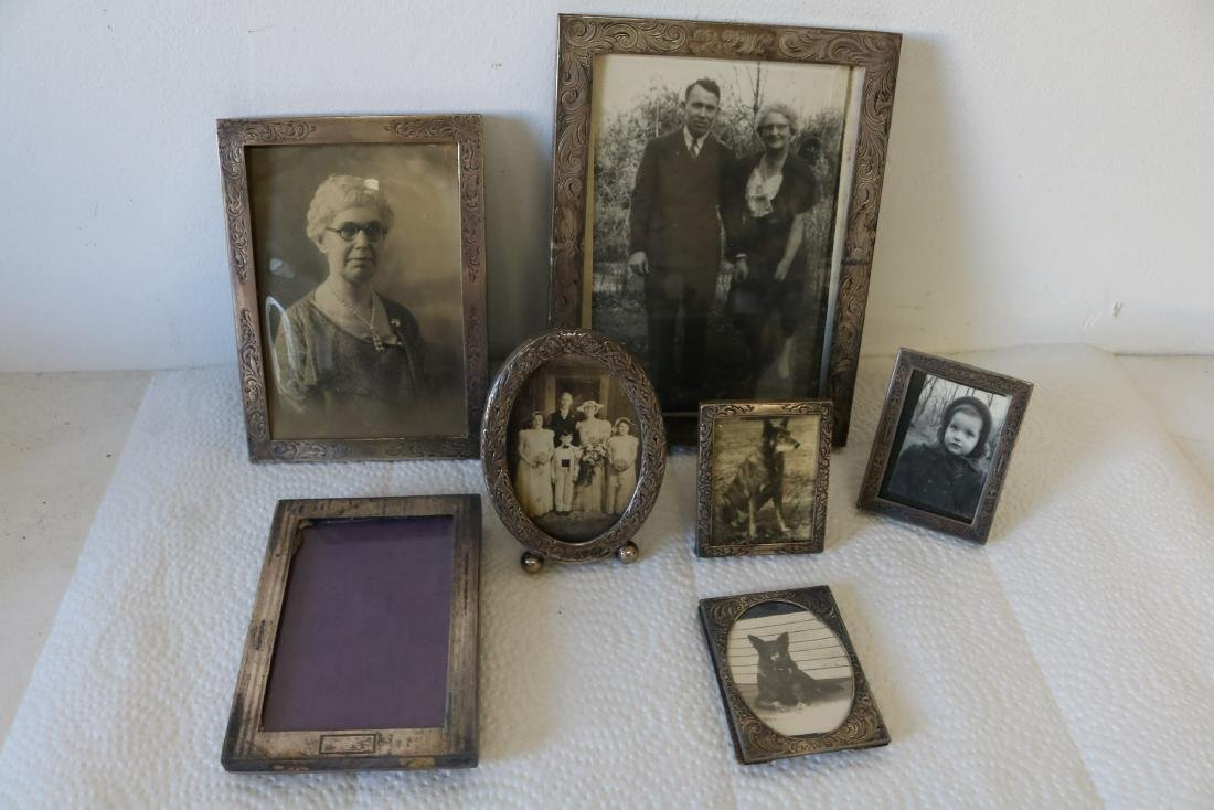 Lot of Sterling Silver Picture Frames