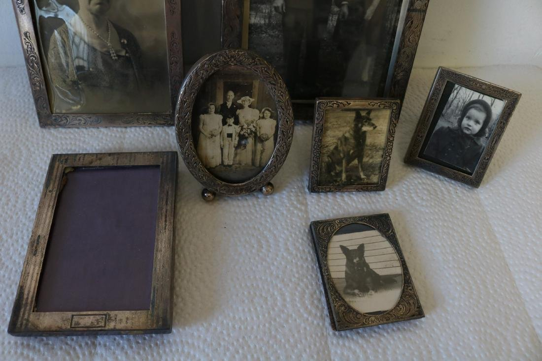 Lot of Sterling Silver Picture Frames - 2