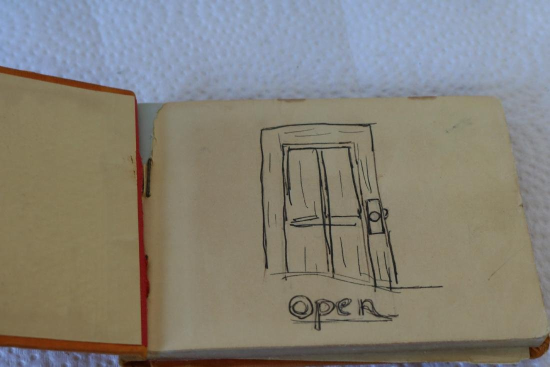 Silk Covered Autograph Book, 1938-41, with great - 2