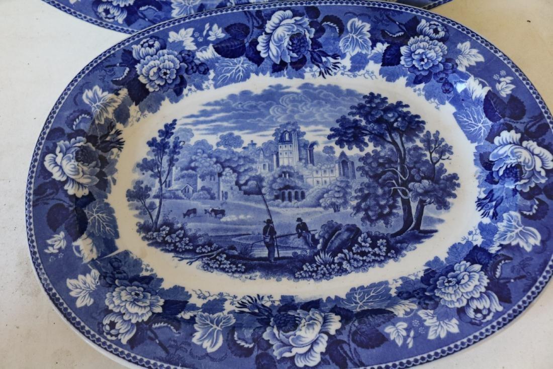 Wedge Wood Flow Blue Graduated Platters, Landscape - 2