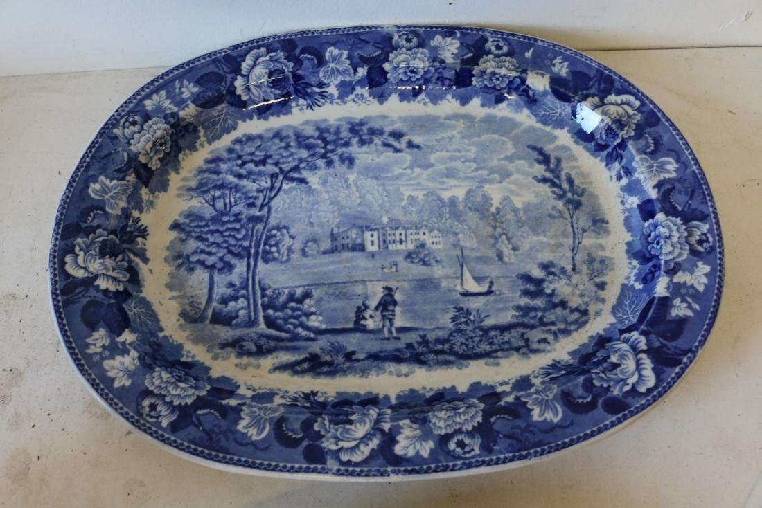 Wedge Wood Flow Blue Graduated Platters, Landscape - 3