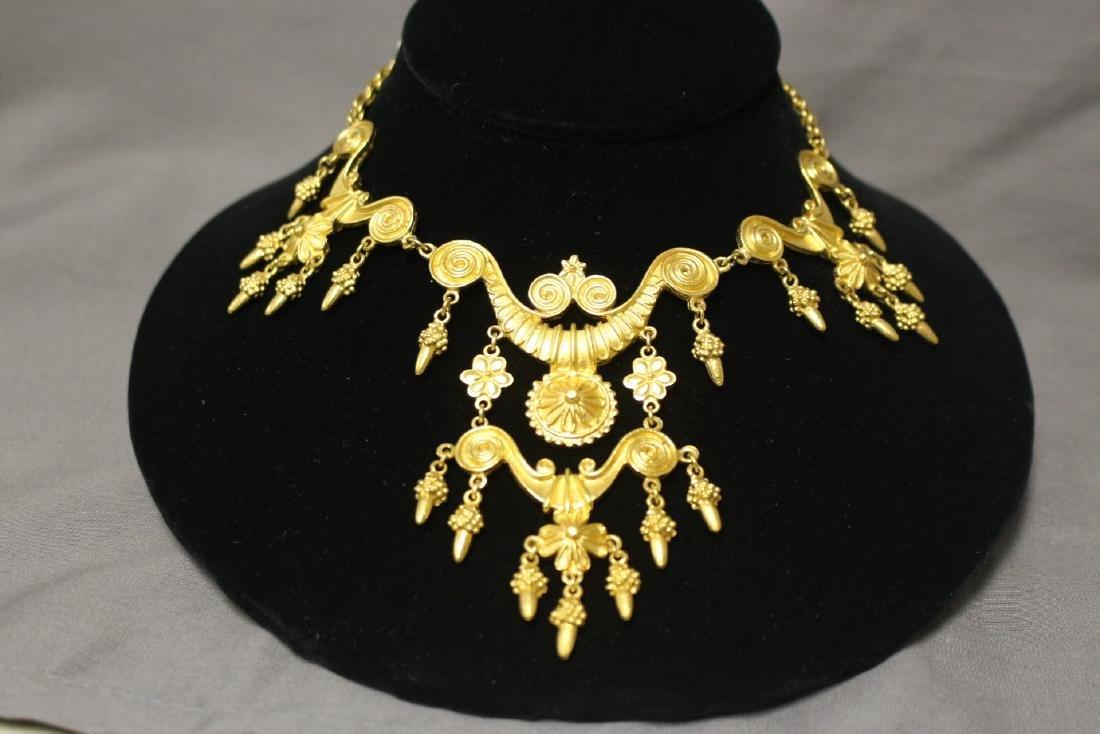 Vintage vendome statement necklace