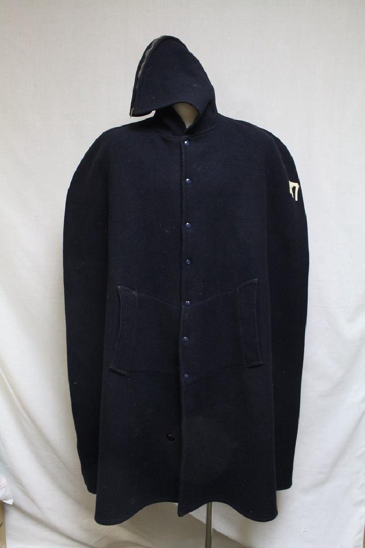 Vintage 1970's Wool Football Cape
