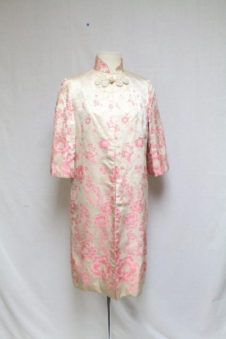 Vintage 1960's Brocade Cheongsam & Jacket Set