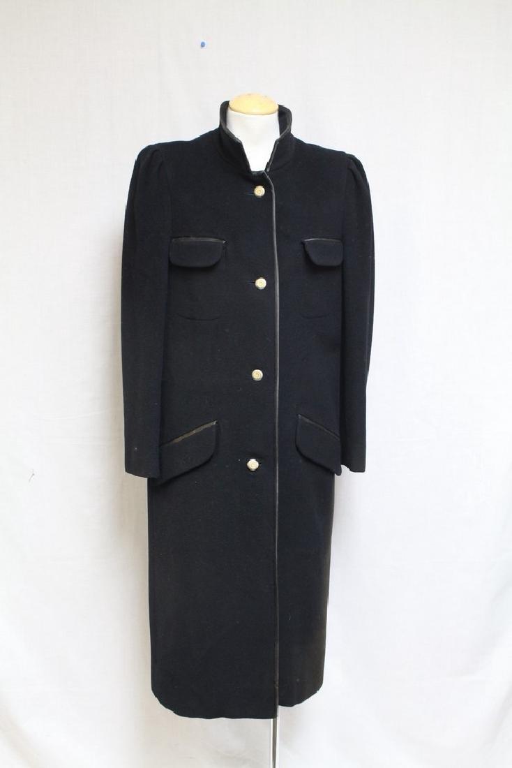 Vintage 1980s Louis Feraud Wool Coat