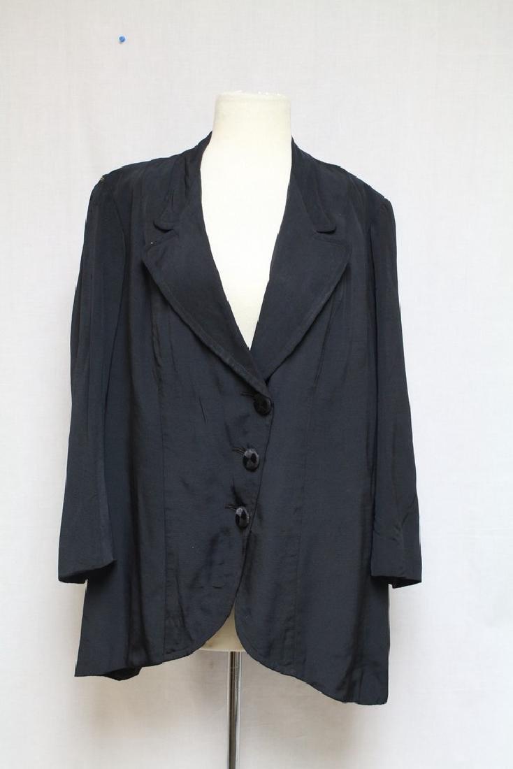 Vintage 1910s Ladies Silk Jacket