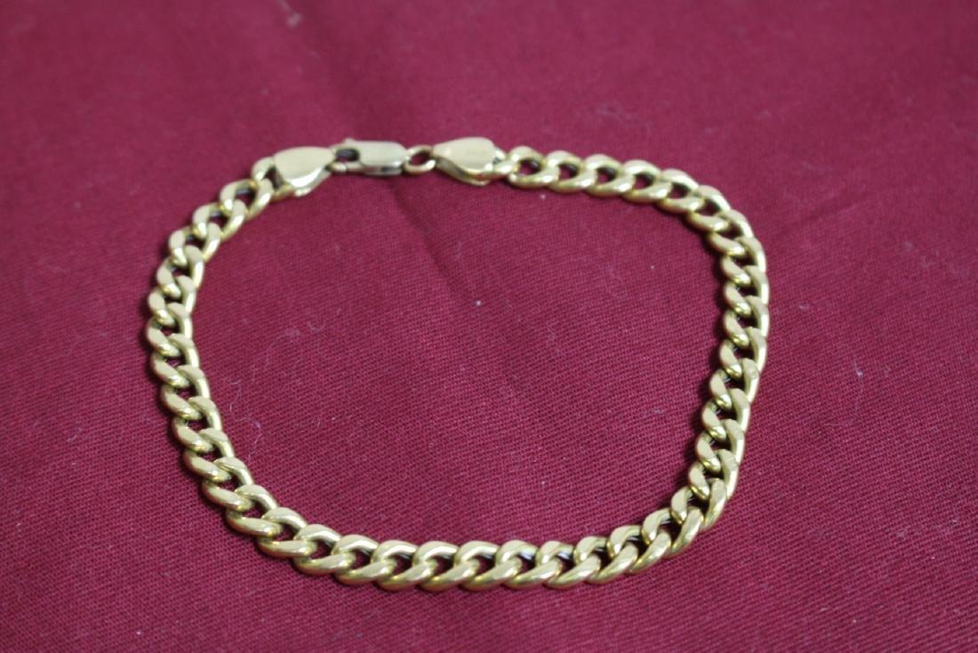 18K Gold Bracelet, marked 750