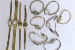 Lot of Vintage Ladies Wrist Watches
