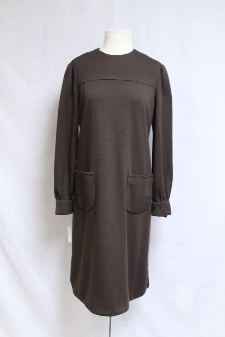 Vintage 1960's Bill Blass Wool Dress