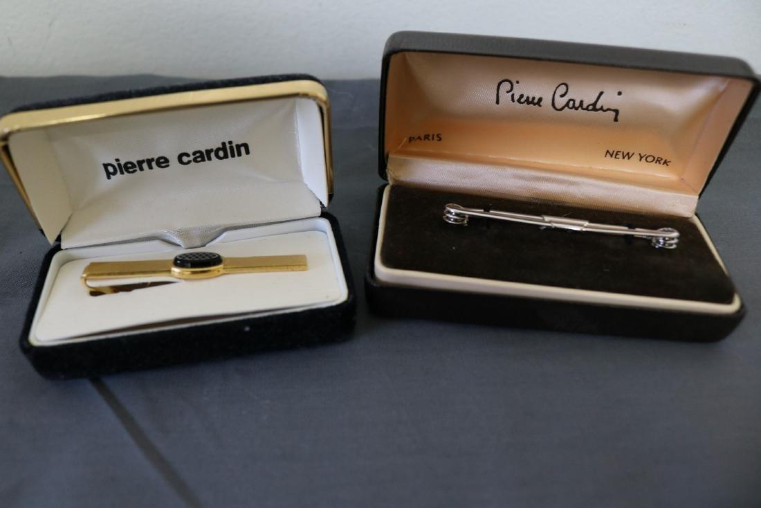2 Vintage Pierre Cardin Tie Clips