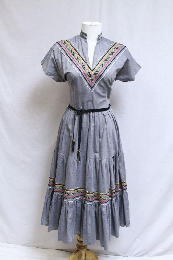 1950s Patio Dress