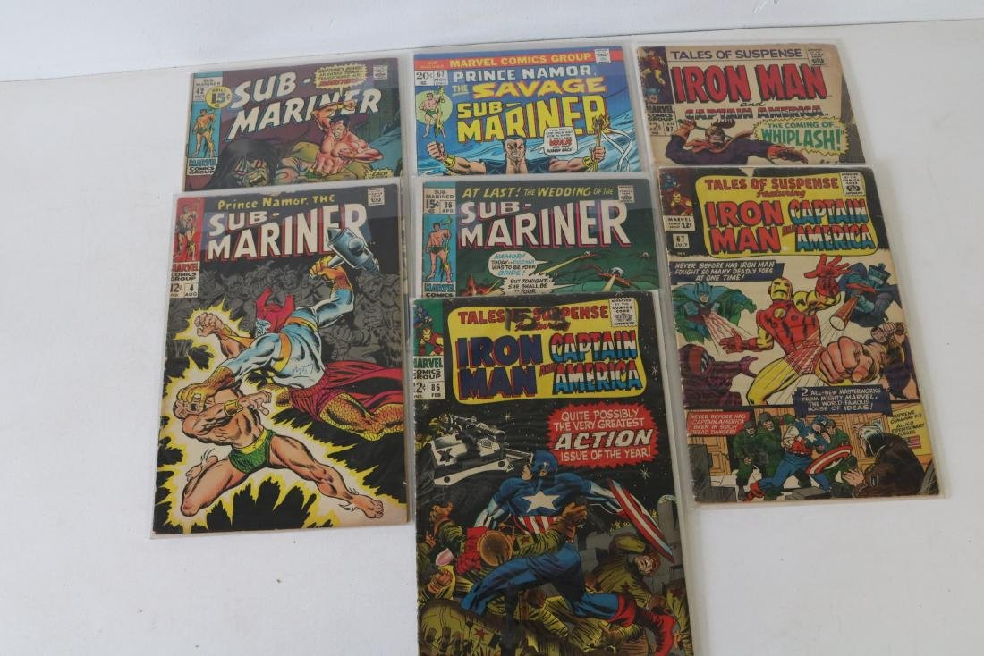 Lot of Silverage Comics, Tales of Suspense