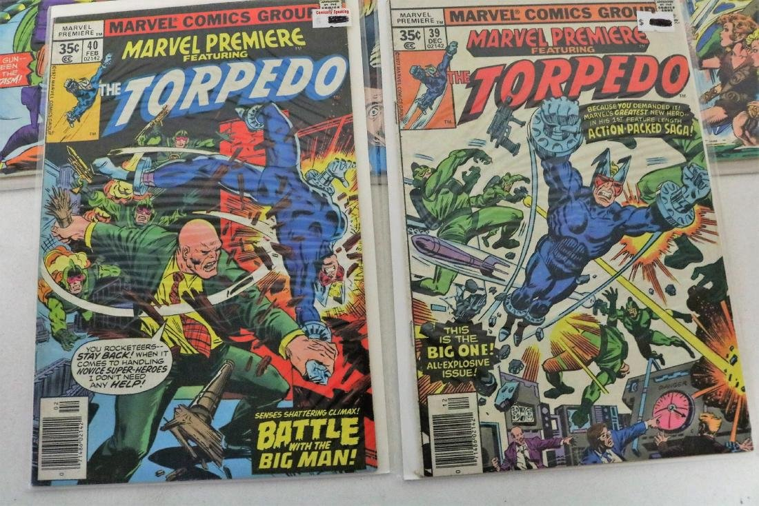 Great marvel Premiere lot of 7 Comics, #19 Iron Fist - 2