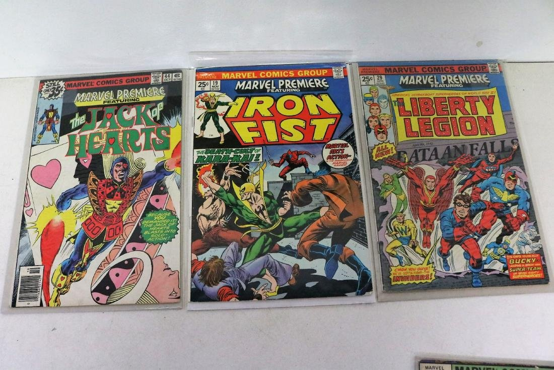 Great marvel Premiere lot of 7 Comics, #19 Iron Fist - 4
