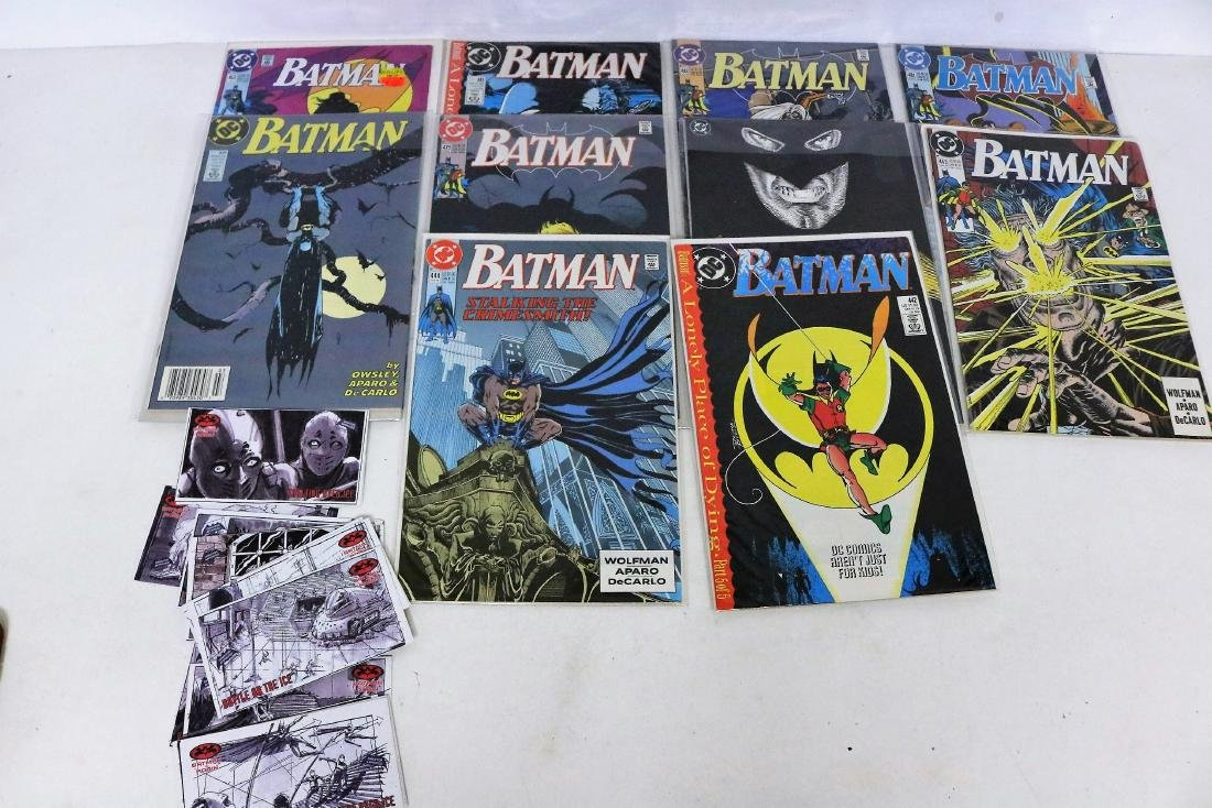 Batman Comic & Gum Cards