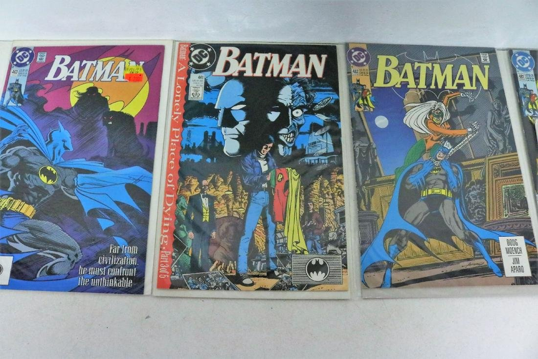 Batman Comic & Gum Cards - 4