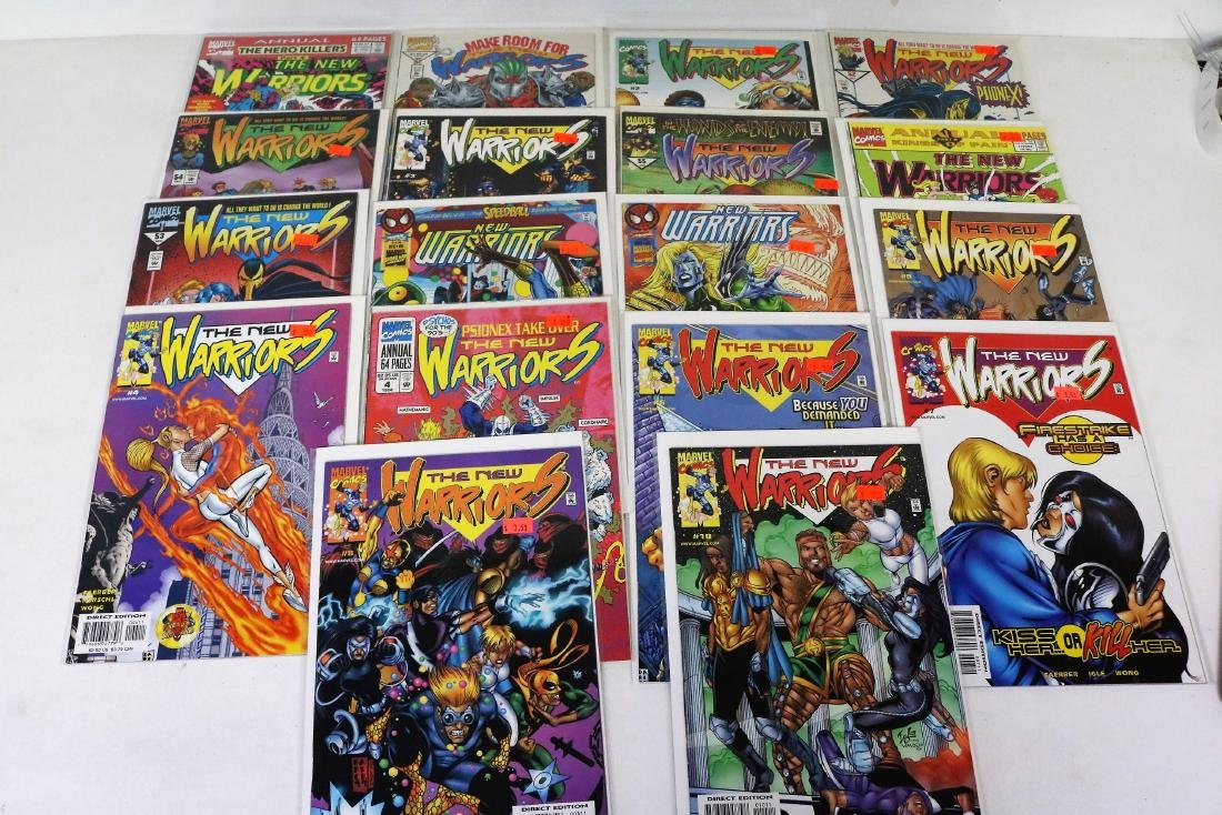 Lot of 18 Comics, Neal Warriors