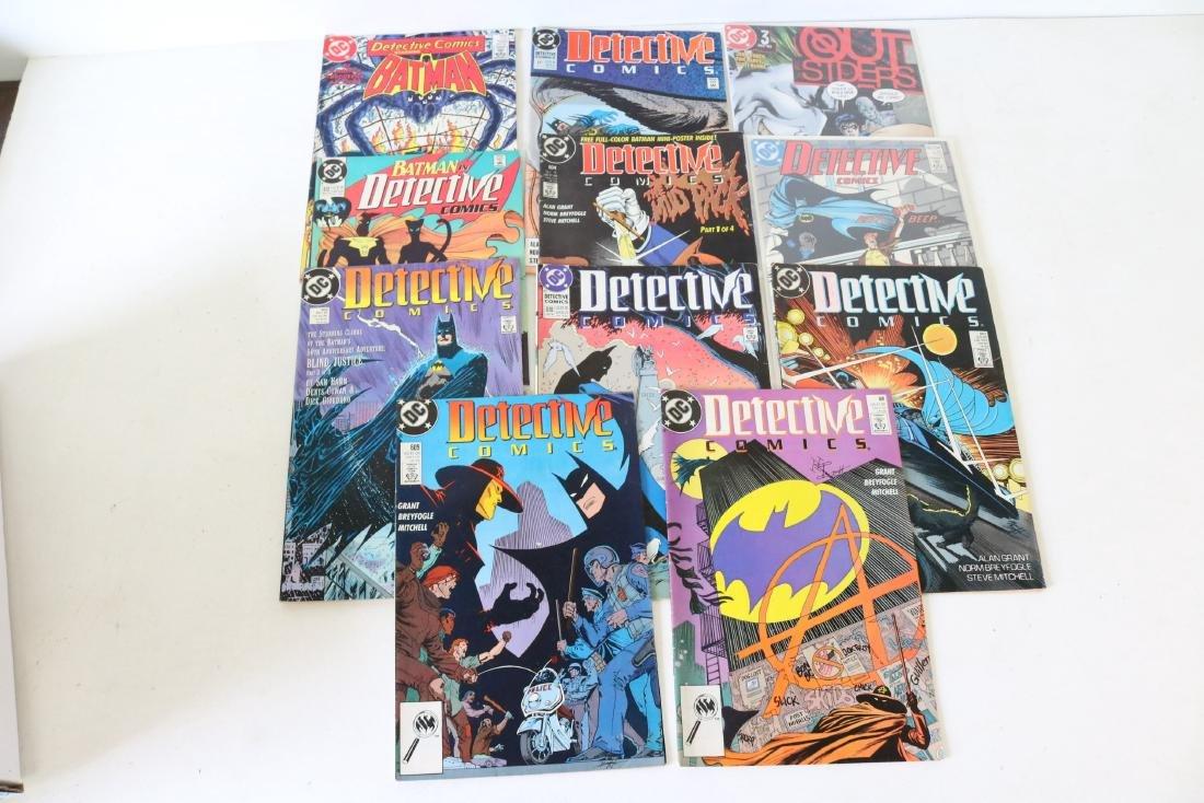Lot of 11 Batman Detective comics