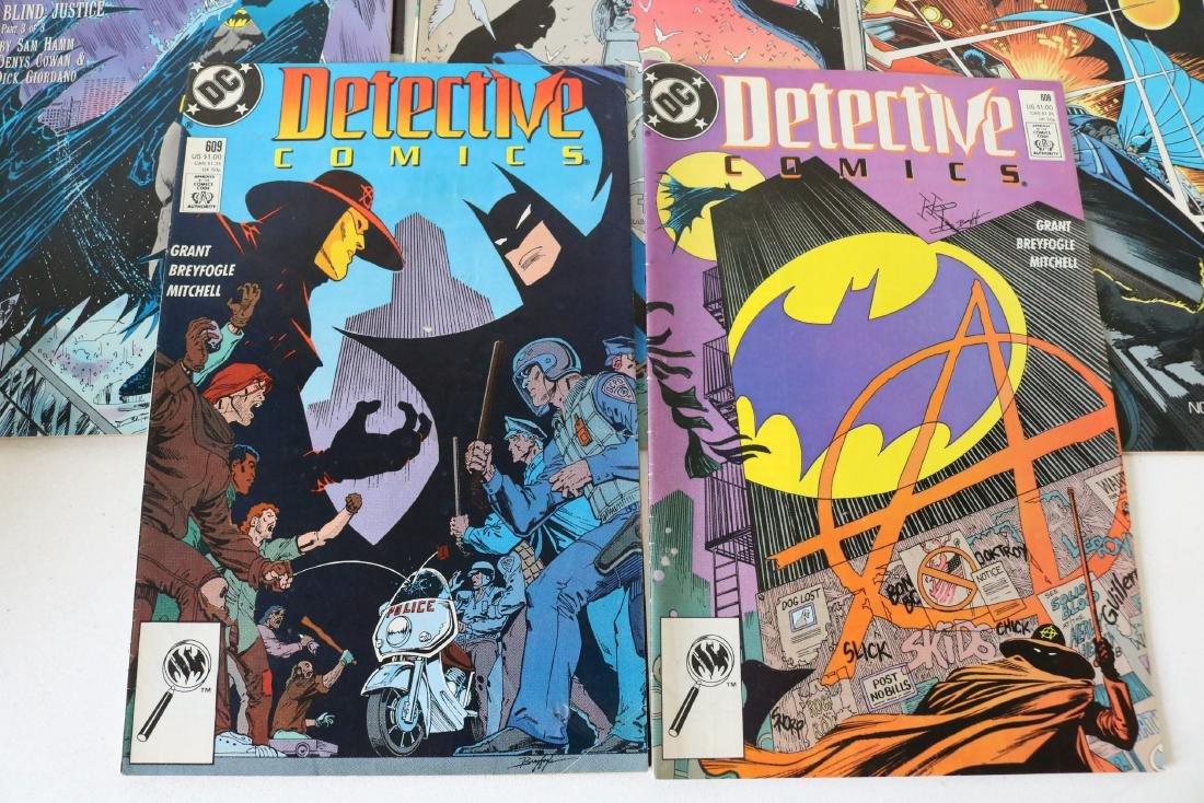 Lot of 11 Batman Detective comics - 2