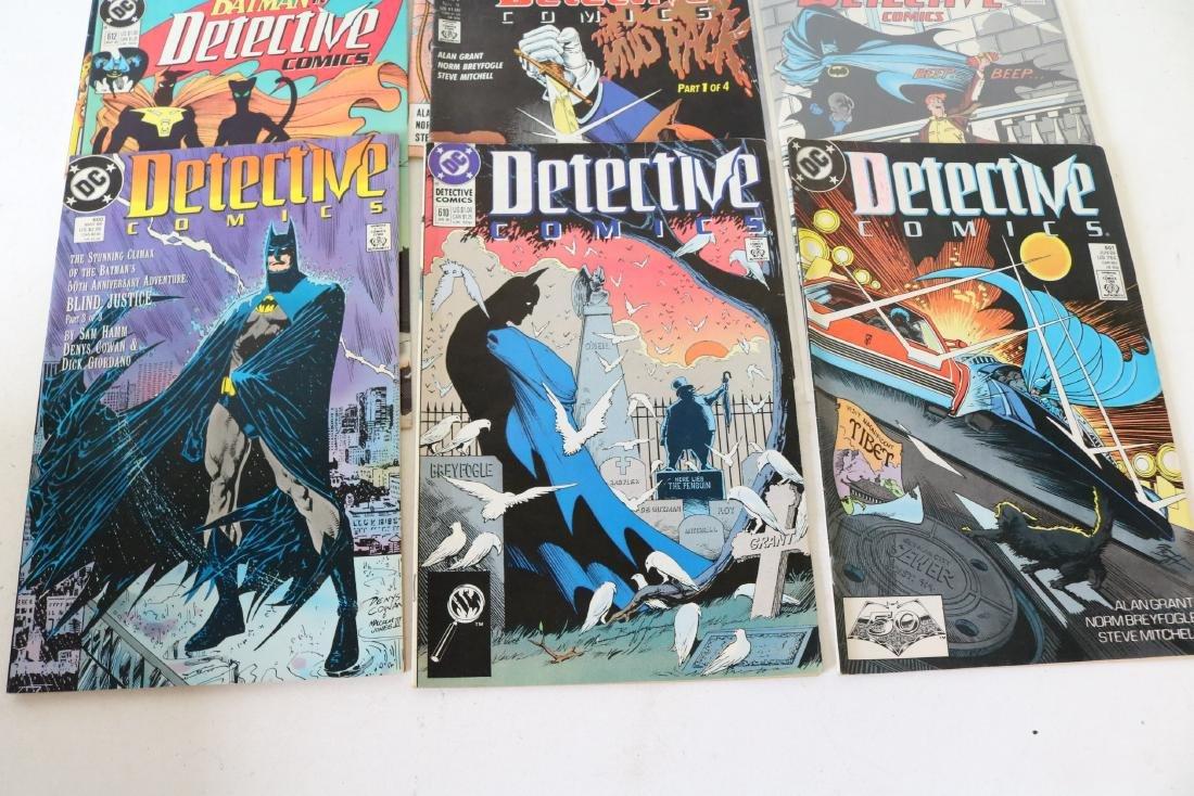 Lot of 11 Batman Detective comics - 3
