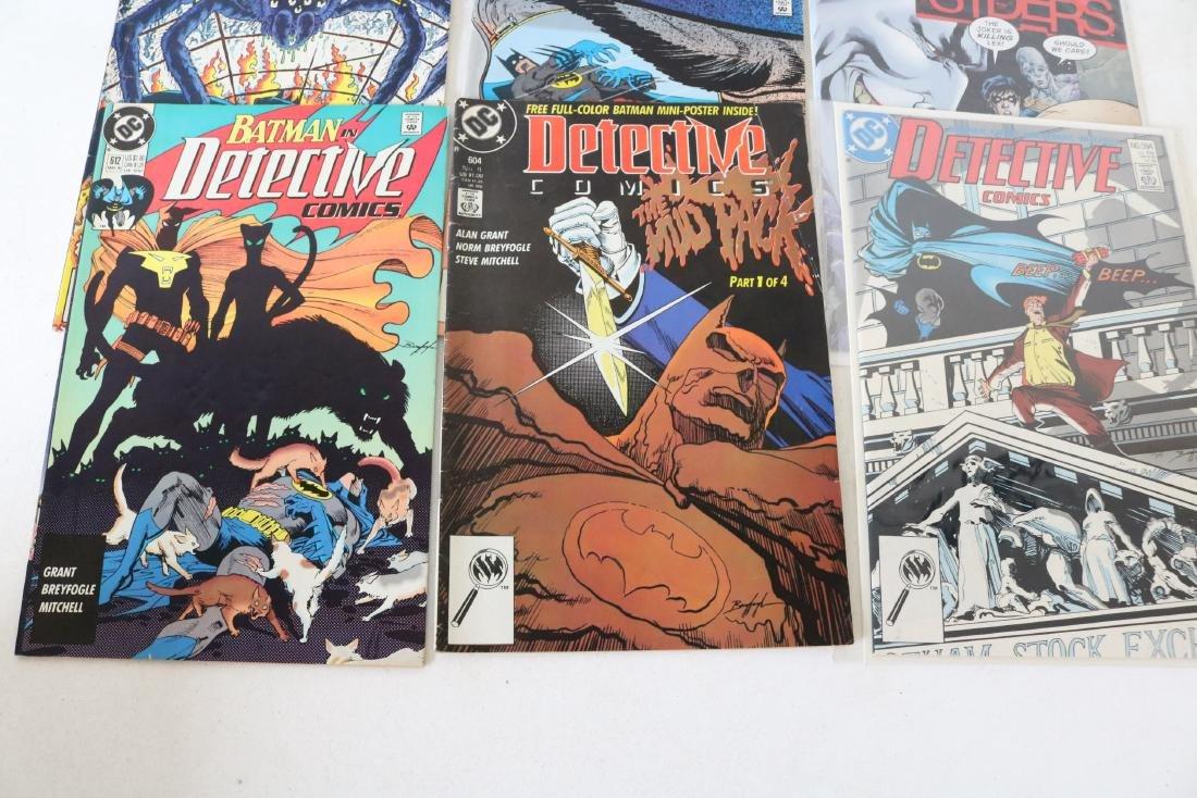 Lot of 11 Batman Detective comics - 4