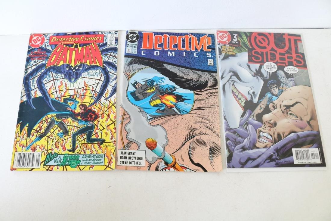 Lot of 11 Batman Detective comics - 5