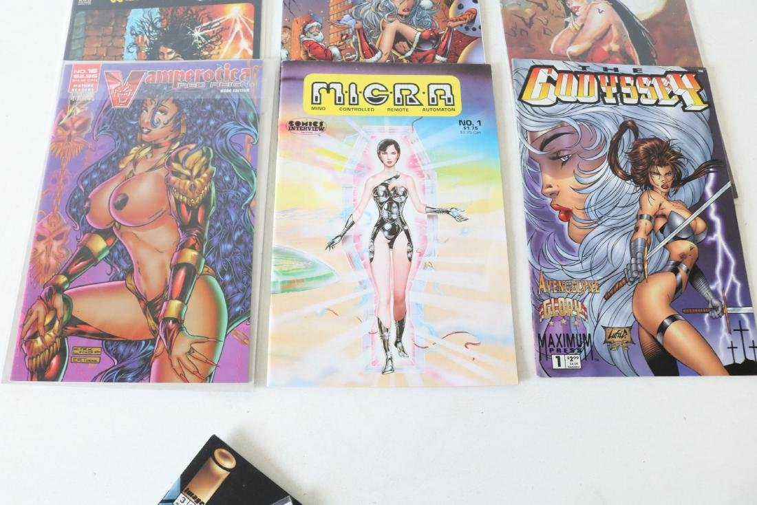 Lot of 11 GGA Sexy Comics Vampirella - 4