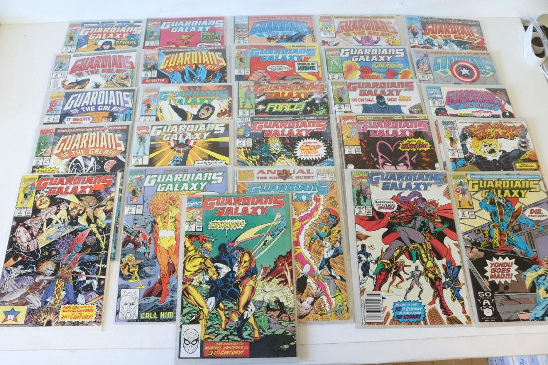 Marvel Guardians of Galaxy Lot of 26 Comics