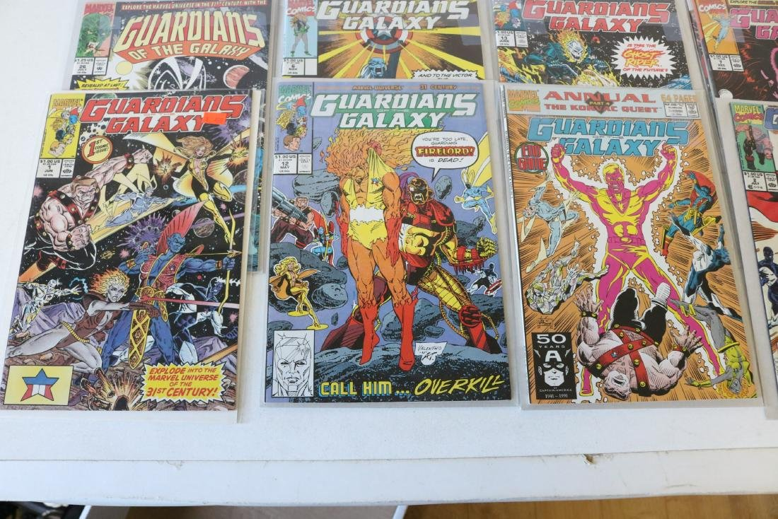 Marvel Guardians of Galaxy Lot of 26 Comics - 2