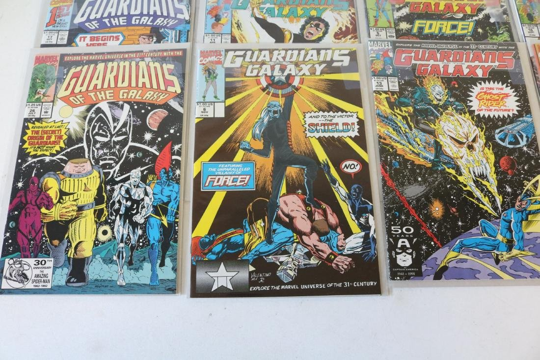Marvel Guardians of Galaxy Lot of 26 Comics - 3