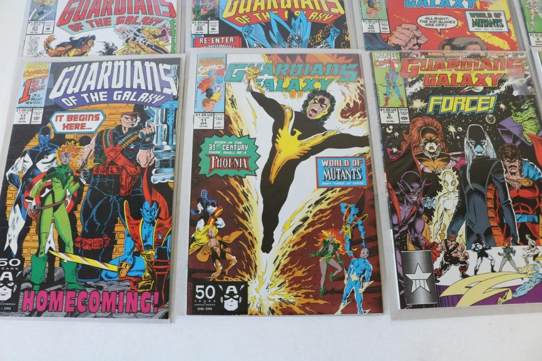 Marvel Guardians of Galaxy Lot of 26 Comics - 4