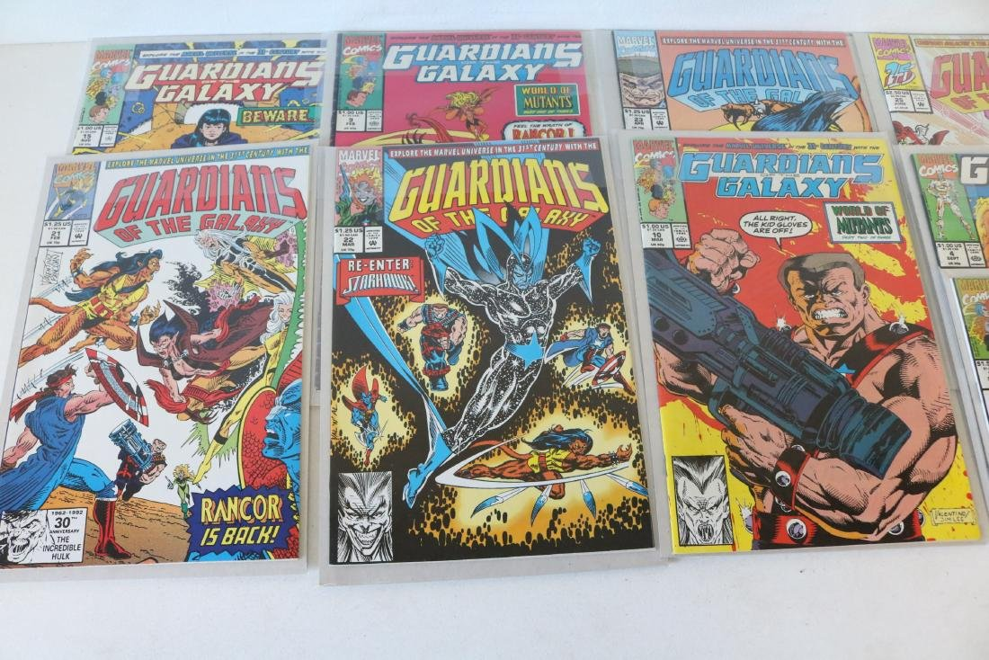 Marvel Guardians of Galaxy Lot of 26 Comics - 5