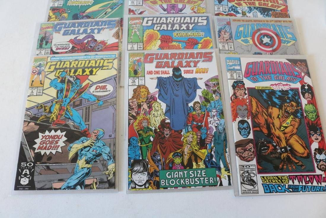 Marvel Guardians of Galaxy Lot of 26 Comics - 7