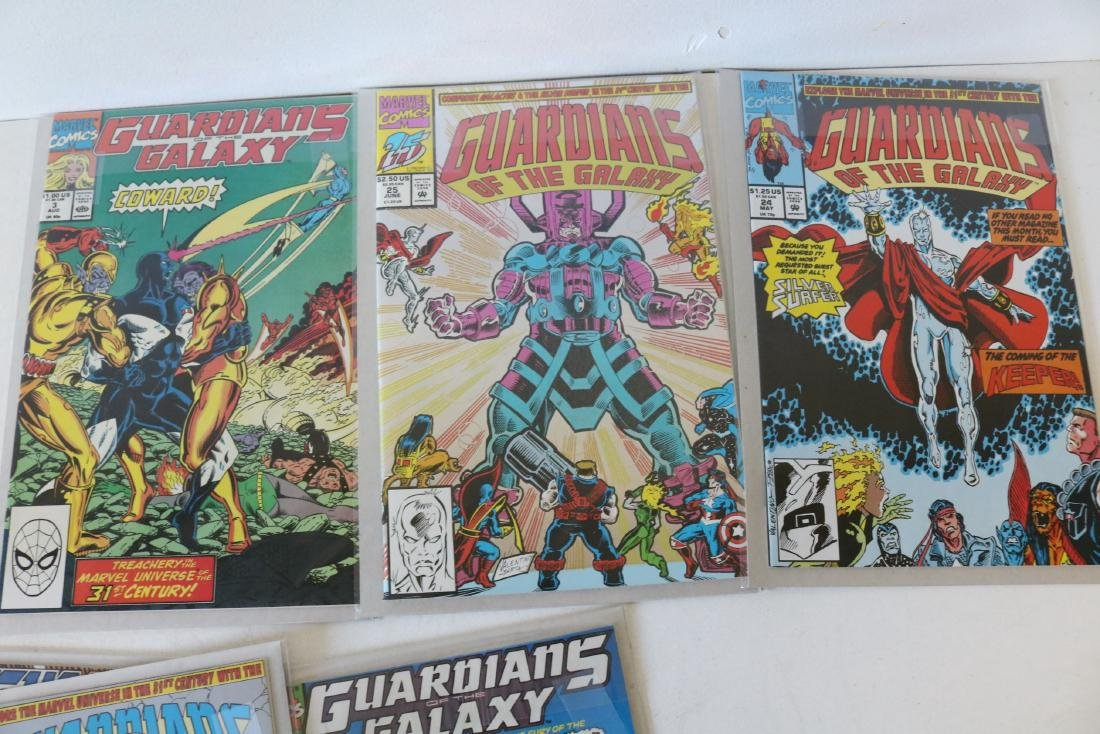 Marvel Guardians of Galaxy Lot of 26 Comics - 9