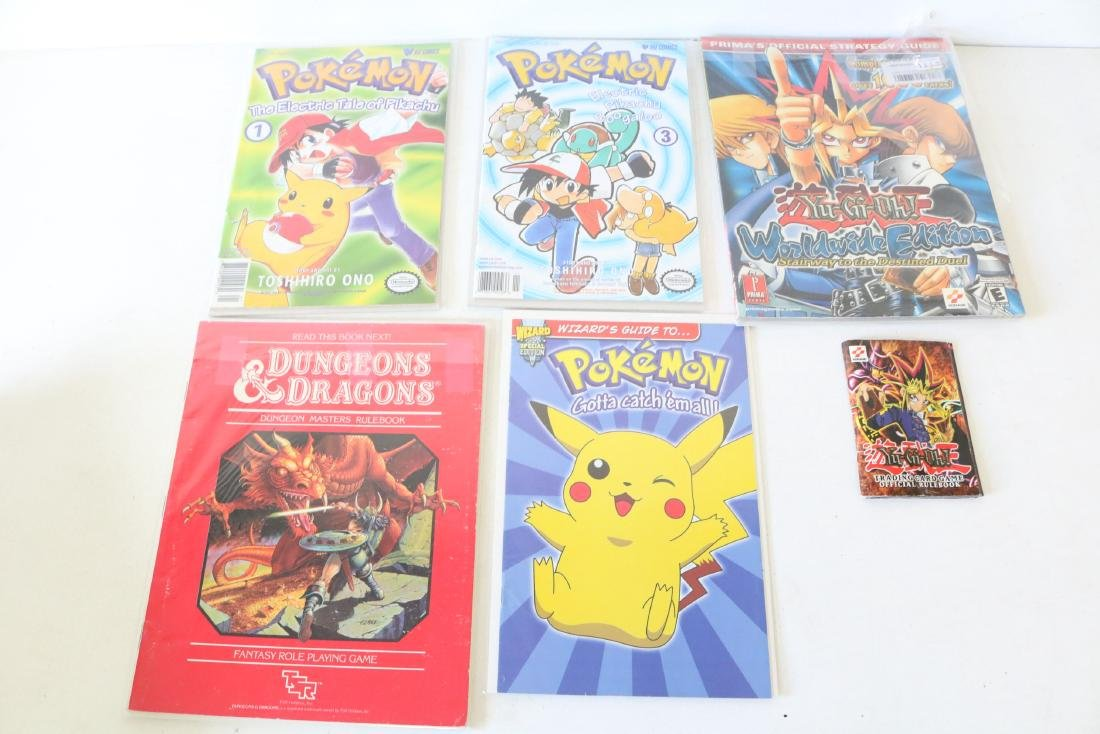 Dungeons and Dragons Pokémon Lot of 6