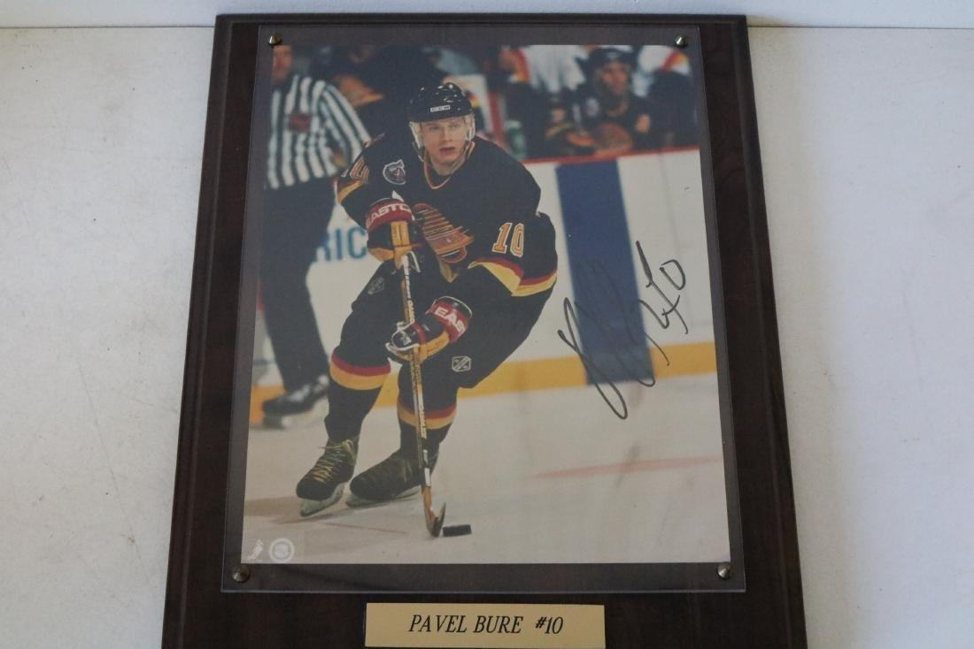 Autographed Pavel Bure #10 Plaque
