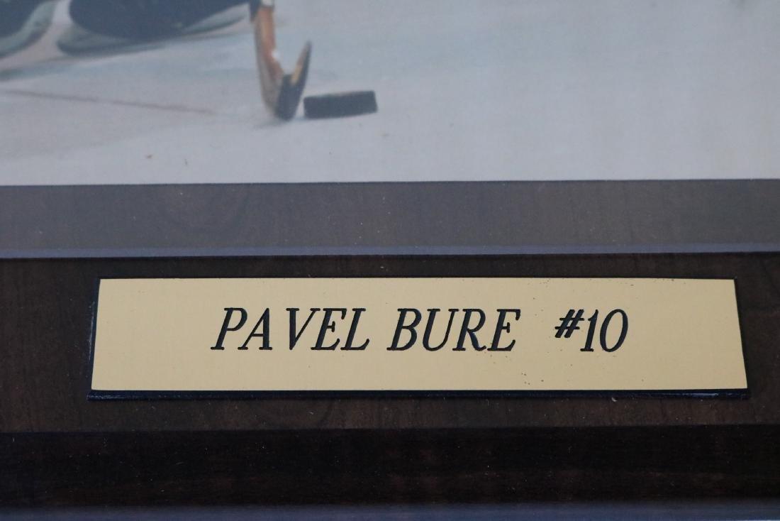 Autographed Pavel Bure #10 Plaque - 3