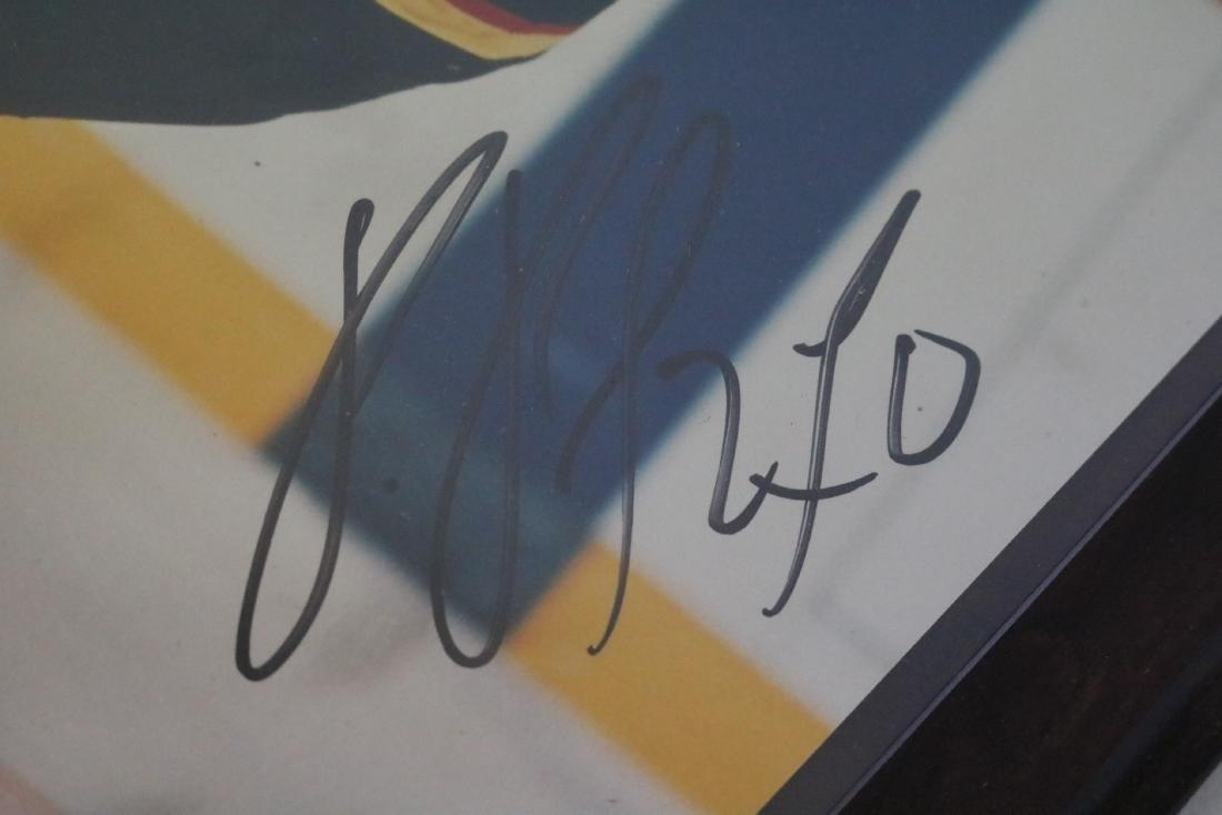 Autographed Pavel Bure #10 Plaque - 4